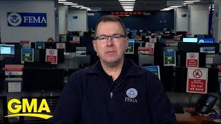 Federal Emergency Management head on coronavirus latest l GMA