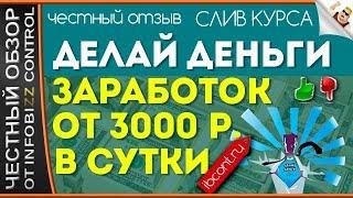Делай Деньги. Заработок от 3000 Рублей в Сутки. Владимир Власов/Честный Обзор/Слив Курса