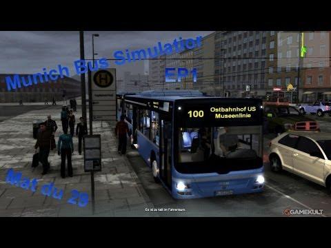 carrière sur Munich Bus Simulator EP1 |