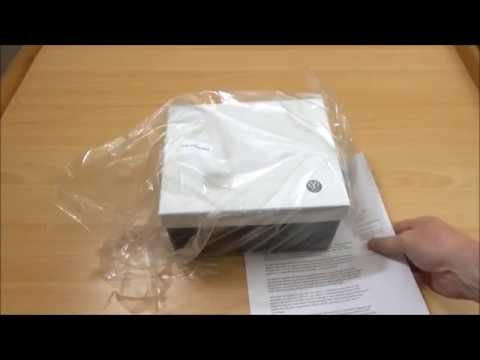 VW emissions scandal official fix.  Gift unboxing.
