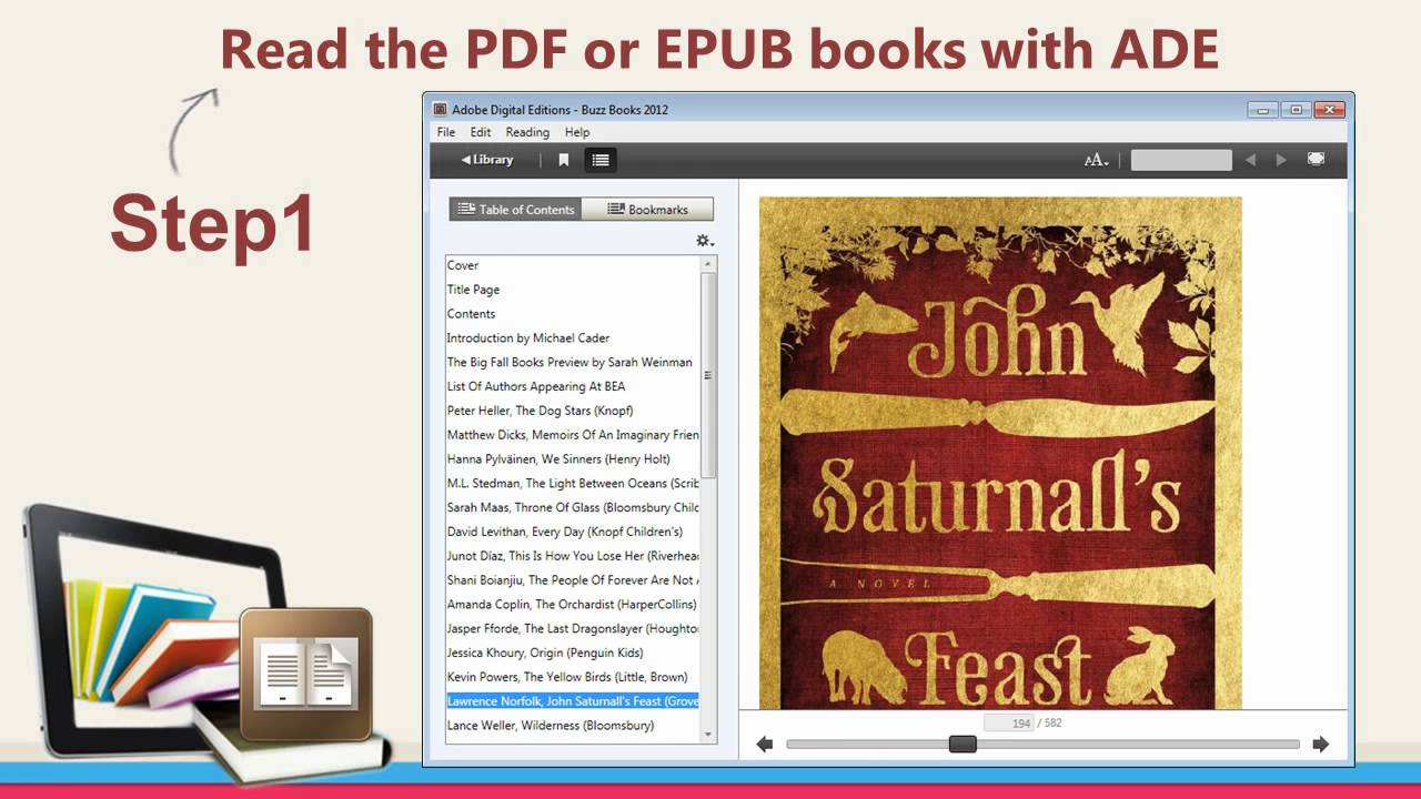 Convert Adobe Digital Editions to PDF (Video)