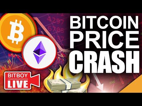 Bitcoin Price Crash (Worst Time To Sell Your Bitcoin U0026 Ethereum)