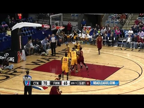 Highlights: John Holland (21 points)  vs. the Mad Ants, 2/5/2016