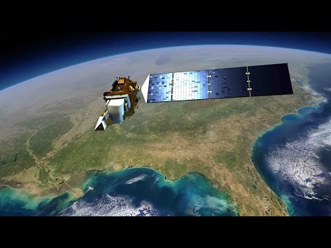Know how Landsat 8 completes its one rotation to give brighter imagery