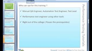 ITeLearn Performance Testing (LoadRunner&Jmeter) Day 01 Demo Session what is performance testing