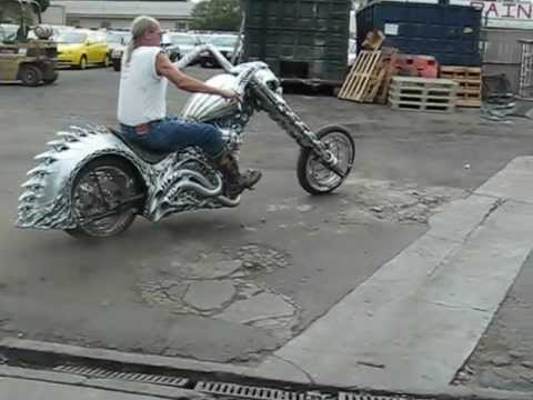 ghost riders REAL HELLCYCLE OUT 4 A RIDE - YouTube
