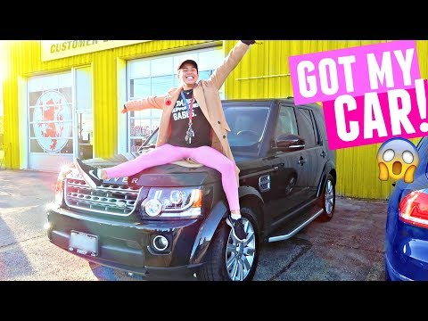 I GOT MY CAR BACK!! (after the accident)