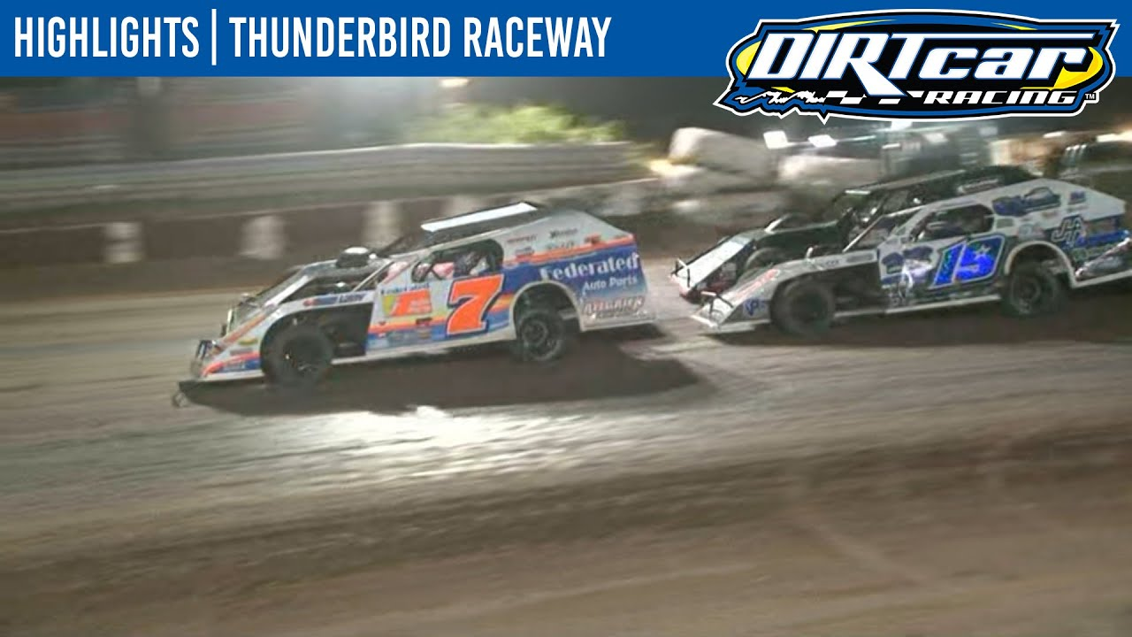 DIRTcar Summer Nationals Modifieds Thunderbird Raceway August 20, 2020 | HIGHLIGHTS