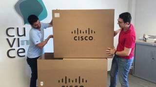 Cuvice Unboxing - Cisco MX200
