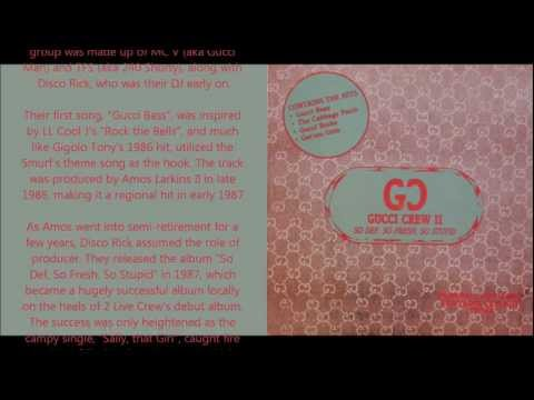 Gucci Crew II - We're def - yall