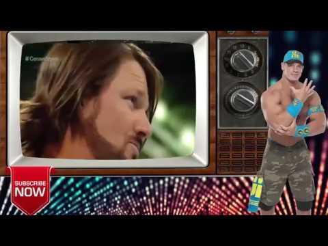 WWE John Cena vs AJ Styles 2017   Full Match HD   YouTube