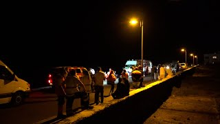 Se elevan a ocho los migrantes muertos tras el vuelco de la patera de Órzola