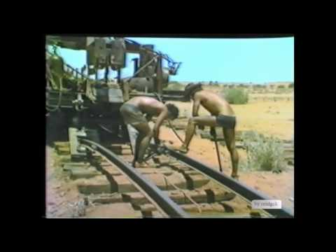 Pulling up the old Central Australia Railway William Creek 1