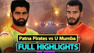 Watch: Pro Kabaddi 2018: U Mumba snatch win from Patna Pirates' hand | Sports Tak