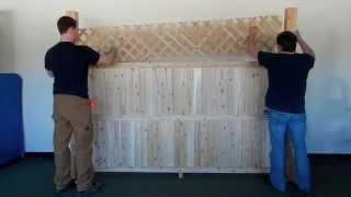 Cedar Fence Installtion.m4v