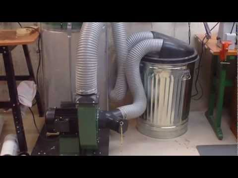 Dust Collection System in my Basement Workshop (The Lureboratory)