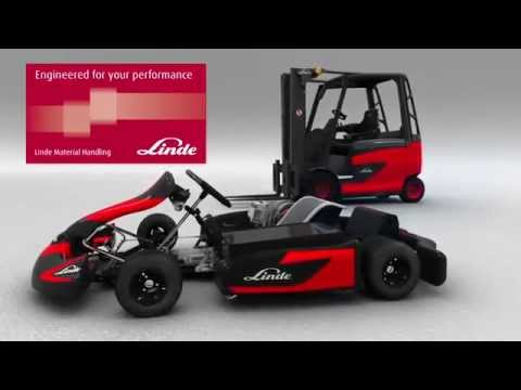 Electric kart world record with Linde E1