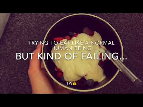 Trying To Eat Like A Normal Human | TW Ed