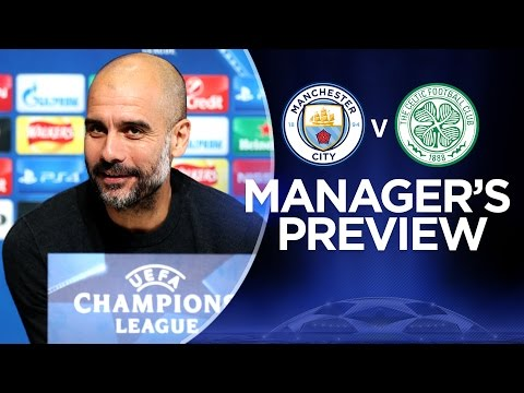PEP REACTS TO SANCHEZ RUMOUR | Man City v Celtic | Guardiola Press Conference