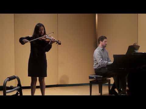 Lloxci at The Hartt School of Music recital.  12-16-2017