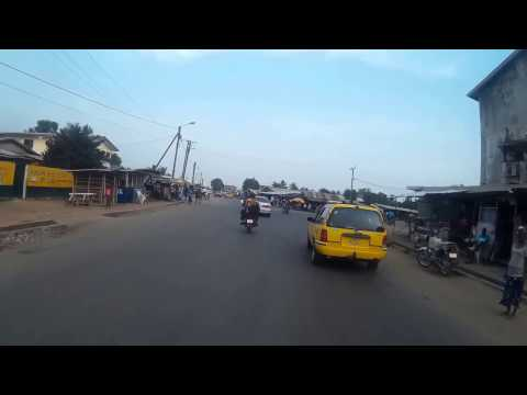Riding down Duport Road - Paynesville Monrovia Liberia
