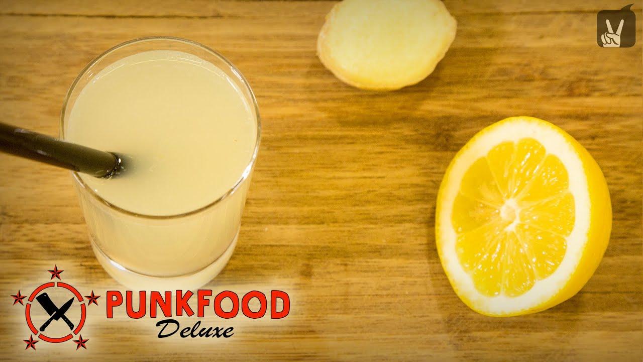 limonade selber machen einfaches rezept von punkfood. Black Bedroom Furniture Sets. Home Design Ideas