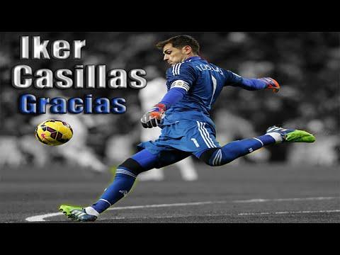Iker Casillas● Sus Mejores Atajadas En El Real Madrid● 1999-2015