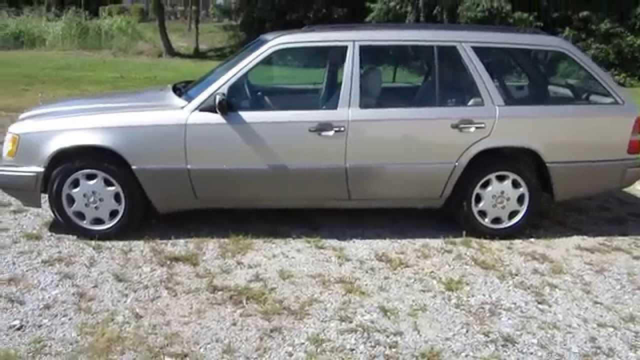 Super clean 1995 mercedes benz e320 wagon sold for 1995 mercedes benz e320 wagon