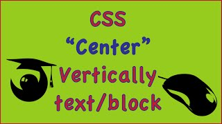 css center div vertically text block image (css align text)