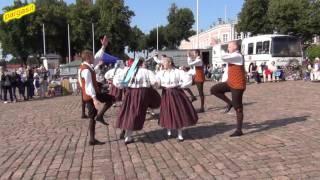 Folk dance - Loksa Tantsijad,  Kaera Jaan 20.8.2016