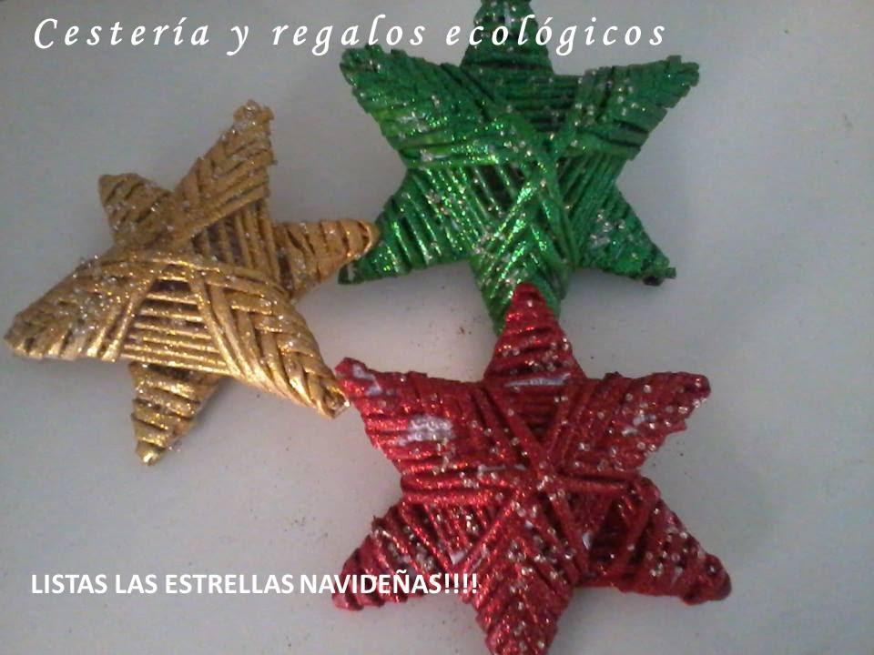 Cester a en papel estrellas para fiesta o navidad youtube - Estrella para arbol de navidad ...
