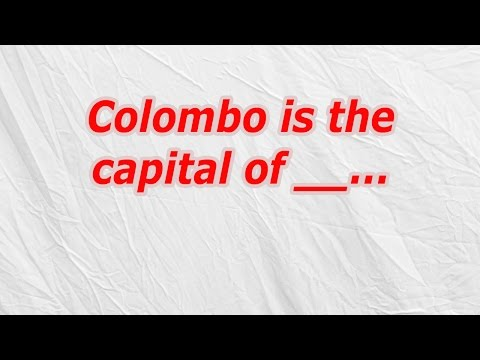 Colombo is the capital of (CodyCross Crossword Answer)