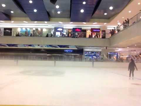 Ice skating practice @ MOA