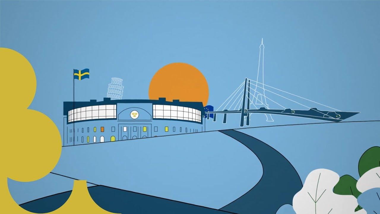 En film från Sveriges riksdag om hur riksdagen arbetar med EU