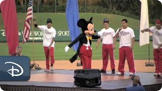 Mickey Mouse Dances | ESPN Wide World of Sports
