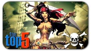 Обзор ТОП 5 лучших игр про морских пиратов  для PC