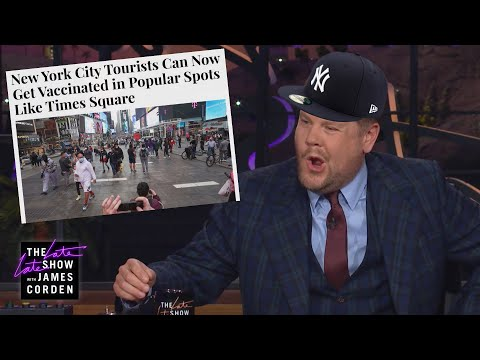 James Corden Does a Perfect NYC Accent