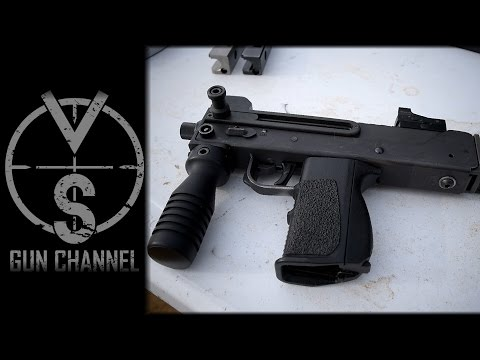 M11/9 Submachine Gun CF-W Bolt (Full Auto Testing)