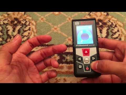 Видео обзор: Дальномер BOSCH GLM 500