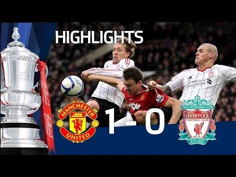 Man United 1-0 Liverpool | The FA Cup 3rd Round - 09/01/11