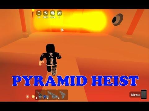 Roblox Mad City Attempt To Rob The Pyramid Heist Let S Play With