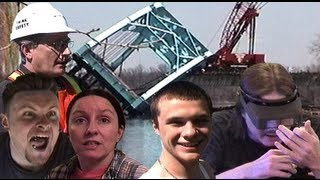 Tj's Parent's Fighting, Railroad Bridge Falls Down, Basement Bar And Rabbit Hoarder Trash!