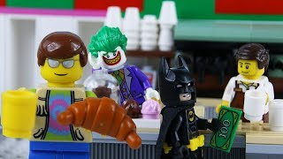 LEGO City Coffee Cafe Fail STOP MOTION LEGO Batman Internet Cafe Fail | LEGO City | By Billy Bricks