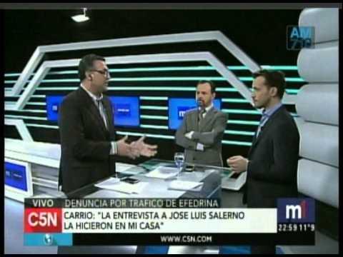 C5N - Minuto Uno: La acusacion contra Anibal Fernandez (Parte 4)