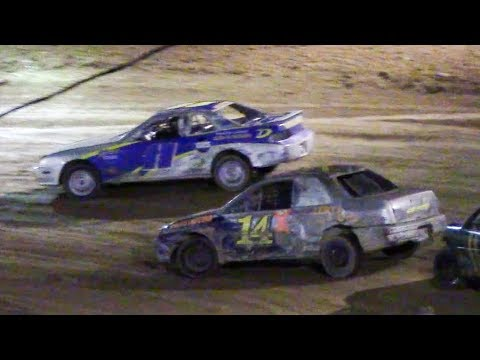 Mini Stock Heat Three | Old Bradford Speedway | 9-14-18
