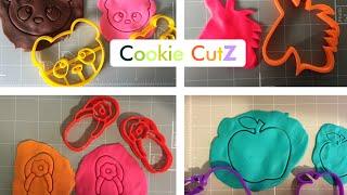CookieCutz - Re Engineered 3D Printed Cookie Cutters