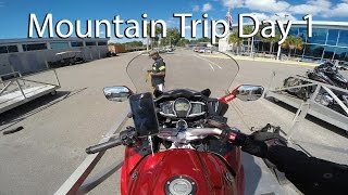 Skyline Drive And Blue Ridge Parkway Motorcycle Trip Day 1 Amtrak Auto Train