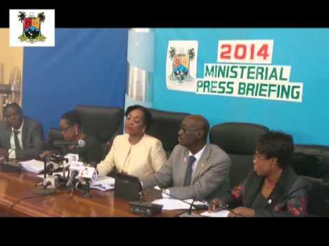 CENTRAL BUSINESS DISTRICT OFFICE 2014 MINISTERIAL PRESS BRIE