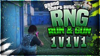 GTA 5 ONLINE // RNG - RUN N GUN GAMEPLAY // FIRST RNG WIN // RNG NEWBIE