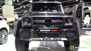 2016 Mercedes G500 Brabus 500hp - Exterior and Interior Walkaround - 2015 Frankfurt Motor Show